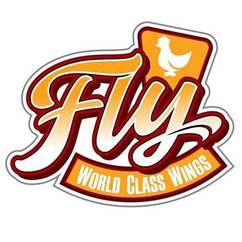 Fly food truck logo