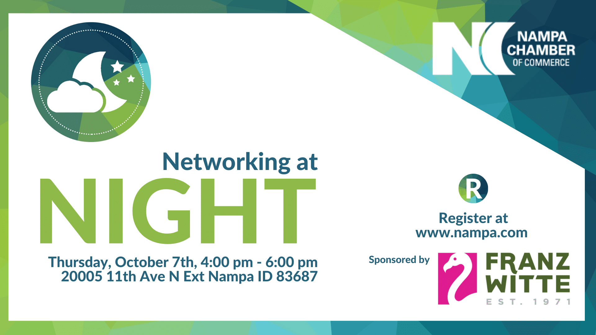 Networking at Night hosted by Nampa Chamber of Commerce